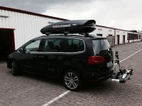 VW Sharan mit Dachbox